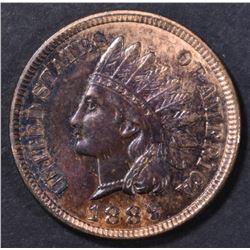 1889 INDIAN CENT GEM BU RB