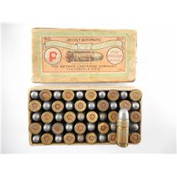 PETERS .38 COLT AUTOMATIC AMMO