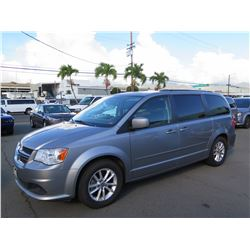 2016 Dodge Grand Caravan Van, 58,244 Miles, Lic. SWV991, Runs & Drives - See Video