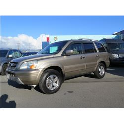 2004 Honda Pilot, 167,600 Miles, Lic. NVX061, Runs & Drives - See Video