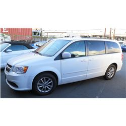 2016 Dodge Grand Caravan Van, 46,914 Miles, Lic. SWV993, Runs & Drives - See Video