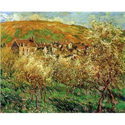 Claude Monet - Flowering Apple Trees
