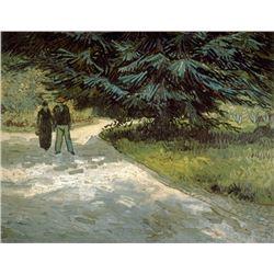 Van Gogh - Poets Garden Iii