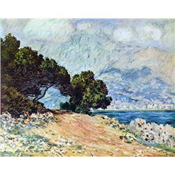 Claude Monet - Cape Martin in Menton
