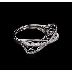 0.57 ctw Diamond Ring - 14KT White Gold