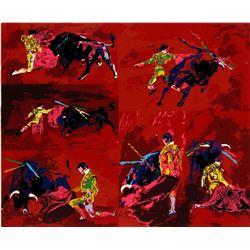 Red Corrida by LeRoy Neiman 23/300