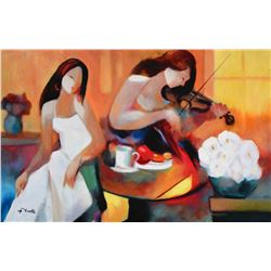 Gholam Yunessi Tranquil Melody on Canvas