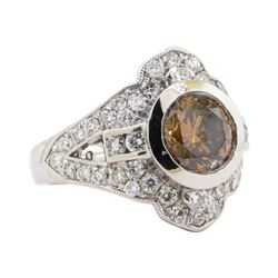 2.01 ctw Diamond Ring -  Platinum