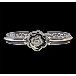 14KT White Gold 0.43 ctw Diamond Bracelet