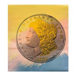1881 Coin by Steve Kaufman (1960-2010)
