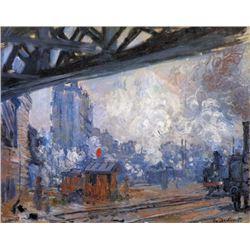 Claude Monet - The Gare Saint-Lazare