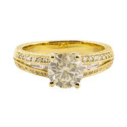 1.67 ctw Diamond Ring - 18KT Yellow Gold