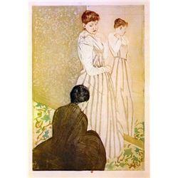 Mary Cassatt - Fitting