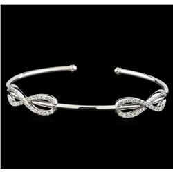 0.78 ctw Diamond Bracelet - 14KT White Gold