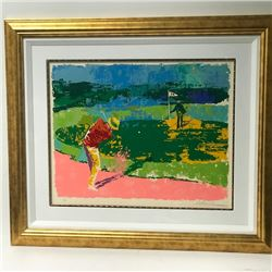 """Island Hole"" by LeRoy Neiman (1921-2012)"