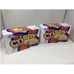 Hostess Crispy Snack Marshmallow Bars (2 x 9)