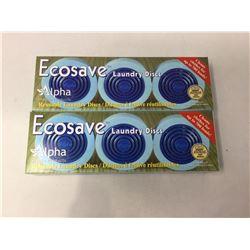 Ecosave Laundry Discs (2 x 3)