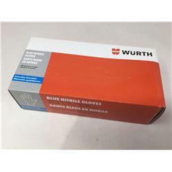 Wurth Blue Nitrile Gloves (XXL)