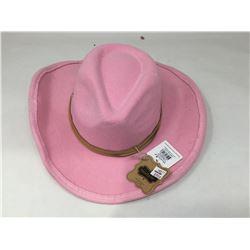 Mudpie Pink Kids Cowboy Hats (2 x OS)