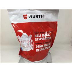 Wurth Half Mask Respirator- Large