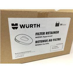 Wurth Filter Retainer 20pk