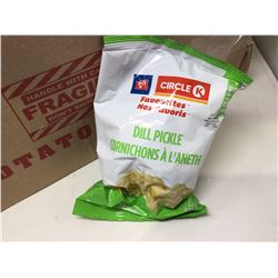 Lot of Circle K Dill Pickle Chips