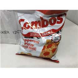 Combos Stuffed Snacks-Pepperoni Pizza Baked Crackers (12 x 178g)
