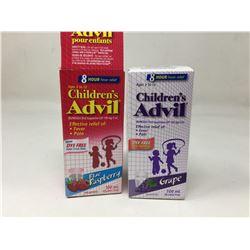 Lot of Children's Advil (2 x 100ml)