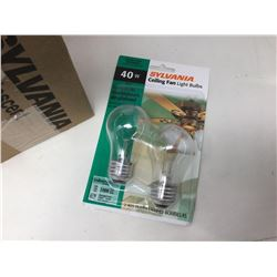 Sylvannia Ceiling Fan Light Bulbs (2 x 6)