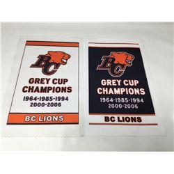 BC Lions Pennants