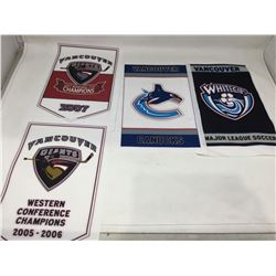 Vancouver Sports Pennants