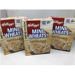 Limited Edition Vanilla Latte Mini-Wheats (3 x 439g)