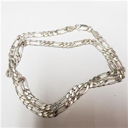 Silver Italian Necklace - Retail $540