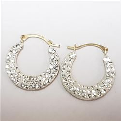10k CZ Earrings - Retail $250