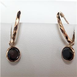 10K Black Diamond (2.1ct) Earrings - Retail Replacement Value - $2000