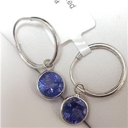 10k Tanzanite (2.3ct) Earrings - Retailer Replacement Value - $1860