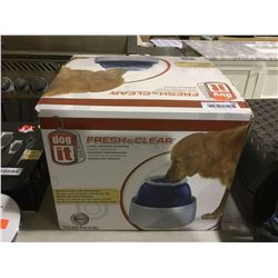 Dog It Fresh and Clear Large Pet Drinking Fountain