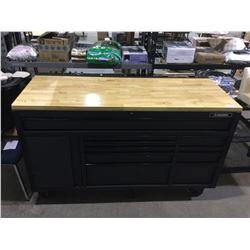 """NEW Husky 61"""" 10-Drawer Mobile Work Center"""
