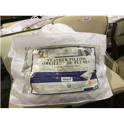 Northern Feather Canada Standard Size Feather Pillow
