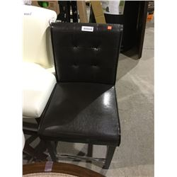 Chocolate Counter Chair