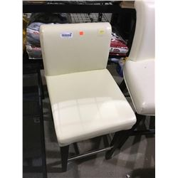 Cream Counter Chair