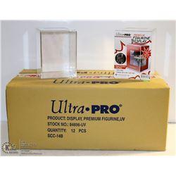 CASE OF 12 ULTRA PRO PREMIUM FIGURINE DISPLAY