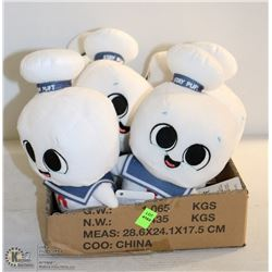 6PK OF SUPER CUTE PLUSHIES; STAY PUFFED MAN