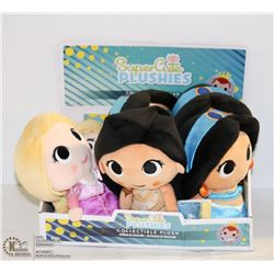 6PK OF SUPER CUTE PLUSHIES; ASSORTED DISNEY
