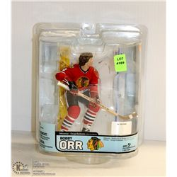 BOBBY ORR CHICAGO BLACKHAWKS HOCKEY FIGURINE