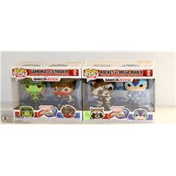 BUNDLE OF 2 MARVEL GAMERVERSE 2PC FUNKO POP