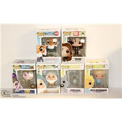 6PK OF ASSORTED FUNKO POPS; DISNEY VARIETY PACK