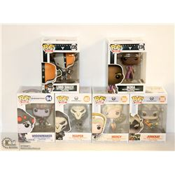 6PK OF ASSORTED FUNKO POPS; OVERWATCH VARIETY PACK
