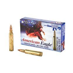 FED AM EAGLE 223REM 55G FMJLC - 20 Rds