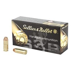 S& B 10MM 180GR FMJ - 50 Rds